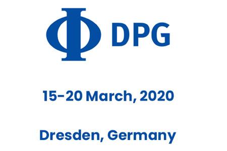 DPG spring meeting in Dresden