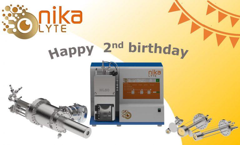 Nikalyte celebrates it's second birthday