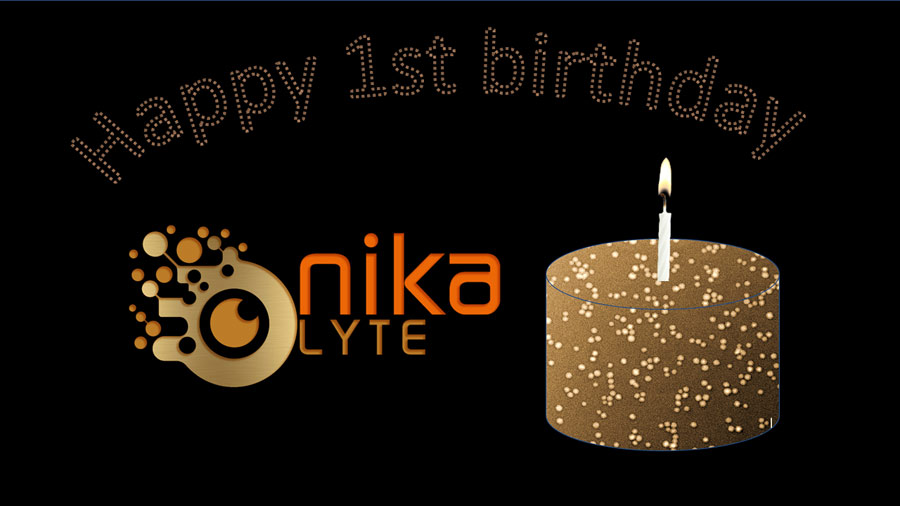 Nikalyte is 1 year old
